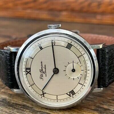 Mens J.W Benson/Smiths mechanical watch 16 Jewels. Beautiful Working Order!