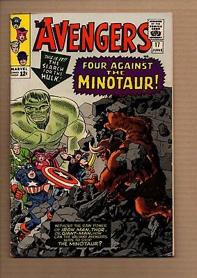 Avengers, Vol 1 #17 - Silver Age - Very Good+