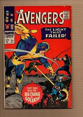 Avengers, Vol 1 #35 - Silver Age  - Very Good / Fine