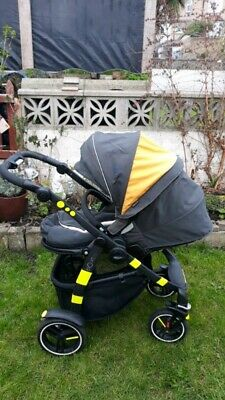 Graco Evo Lime Pushchairs Single Seat Stroller