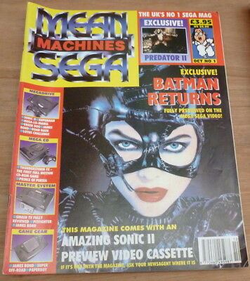 Mean Machines Sega magazine - issue 1