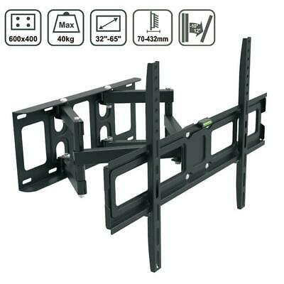 Articulating Full Motion Swivel TV Wall Mount 32 40 42 46 50 54 55 56 60 65 70in