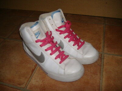 Nike Hi-Top Ladies/Girls Trainers,Size Uk 5,G/C,Designer Ladies Trainers/Shoes