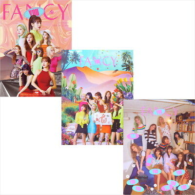 Twice - Fancy You (7th Mini) CD+Photobook+Photocard+Poster+Pre-Order Gift NEW
