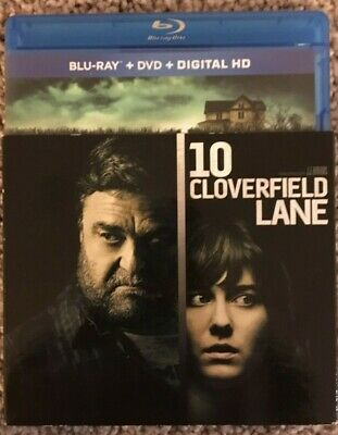Cloverfield Lane (Blu-ray/DVD, 2016, 2-Disc Set) In Excellent Condition!!!
