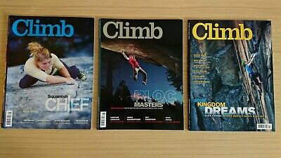 Climb Magazine Issues May, June, July 2011 climbing