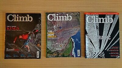 Climb Magazine Issues August And September 2011 And Feb 2012 Photography...