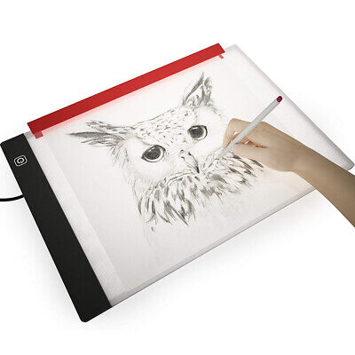 A4 USB LED Dimmable Artist Artcraft Light Box Tracing Drawing Pad Board