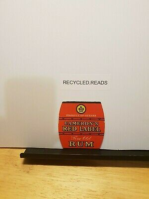 Beer coasters/alcohol, Cameron's red label rum