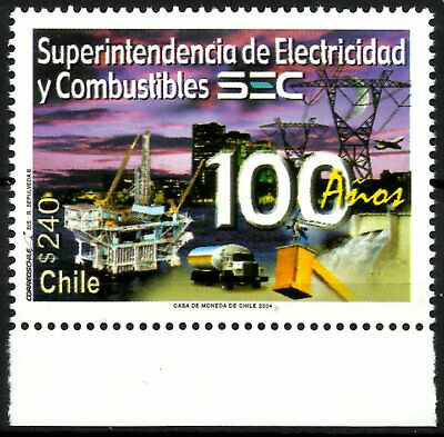 Chile, 100 Years Sec, Mnh, Year 2004