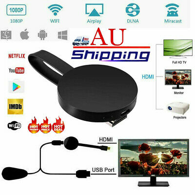 For Chromecast 4rd Generation 1080P Digital HDMI Media Video Streamer Player QC