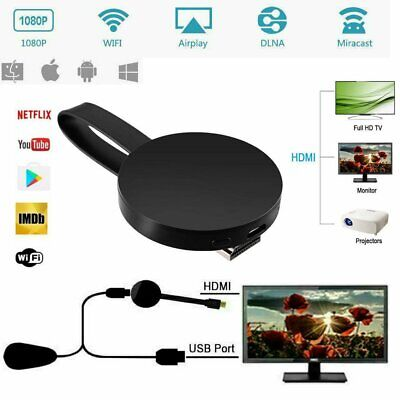 For Chromecast 4rd Generation 1080P Digital HDMI Media Video Streamer Player TY