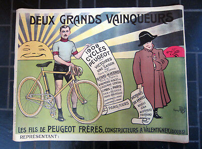 Affiche Cycles Peugeot Mich