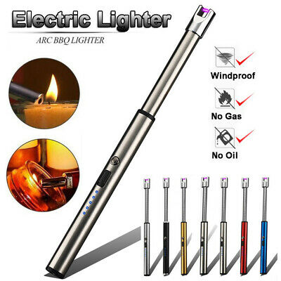 Flexible USB Electric Rechargeable ARC Flameless Windproof Plasma Pulsed Lighter