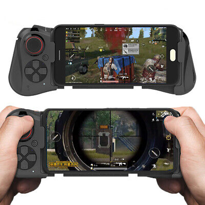 Wireless Game Bluetooth Joystick Telescopic Controller For iPhone Android PUBG