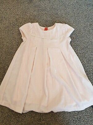 Baby Girl Party Dress Marks And Spencer 12 - 18 Months