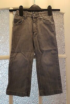 Matalan Boys Grey Jeans Size 2-3 Years-Gc
