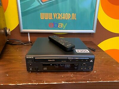 Sony MCE-S50 - VideoCD Player Remote (PAL & NTSC)