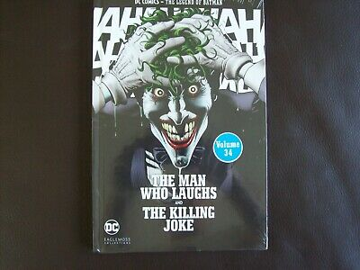 DC COMICS THE LEGEND OF BATMAN COLLECTION#34 The Man Who Laughs The Killing Joke