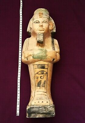 Very Rare Ancient Giant Egyptian Stone Shabti Ushabti 664/525 X 40 cms  Long