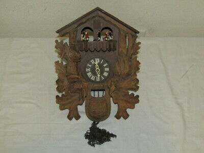 Unknown Cuckoo Clock Small Coo Coo Clock - READ - As-Is, Parts, Untested