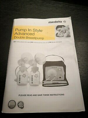 Medela pump in style advanced Instructions