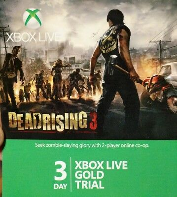 Xbox Live Gold 3 Day (72 HR) Trial