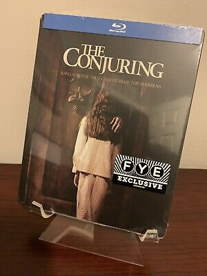 The Conjuring Steelbook (Blu-ray Disc) Factory Sealed