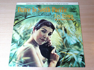 EX/EX !! Les Brown & His Band Of Renown/Dance To South Pacific/1984 Capitol LP