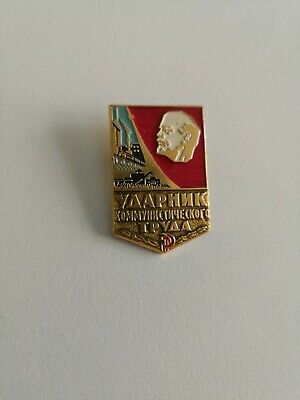 Ussr Soviet Era Enamel Pins, Badges Communism Cccp.new!!""