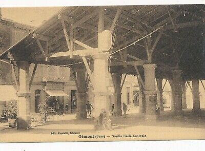 CPA - France - (32) Gers - Gimont - Vieille Halle Centrale