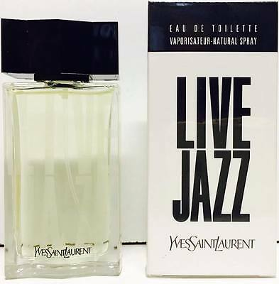 YSL Live Jazz EDT 50ml Spray New & Rare