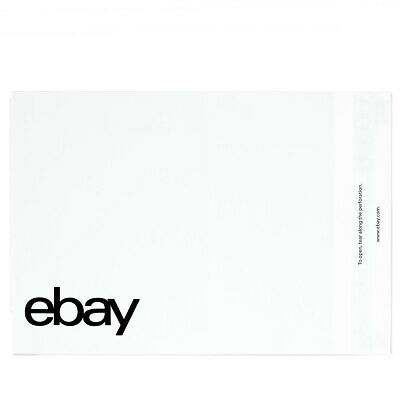 "eBay-Branded Polymailer With Black Print 12"" x 15"" (No Padding)"