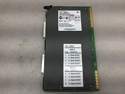 Used Allen Bradley High Resolution Isolated Analog Module 1771-Noc/C Ser C