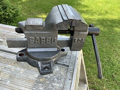 BABCO 604 Engineer Machinist Anvil Vice Swivel Base 4 inch jaws