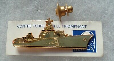 INSIGNE PINS MARINE NATIONALE CONTRE TORPILLEUR LE TRIOMPHANT Collector pin
