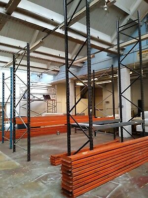 Heavy Duty Fast Locking Warehouse Industrial Pallet Racking - Various Bays