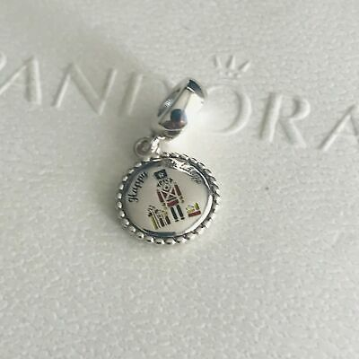 -- Authentic PANDORA Sterling Silver Nutcracker Dangle Charm ENG791169_93