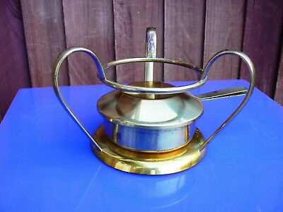 Vintage Brass Dish Food Warmer