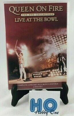 2 DVD - Queen on Fire : Live at Bowl - Freddie Mercury / no Bohemian Rhapsody