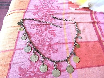 antik Ottoman  time silver  chain  for woman  decoration