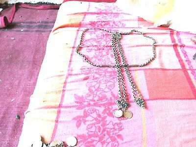 antik Ottoman  time silver  chain   qostak  mans   for duns and xhape sahay