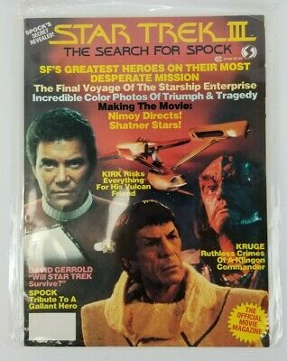 Star Trek III: The Search For Spock Official Movie Magazine 1984