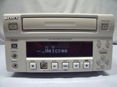 Sony Dvo-1000Md Professional Medical Dvd Recorder ! B56
