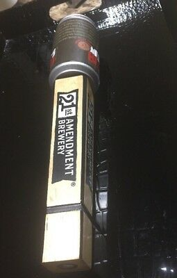 """21st Amendment Brewery Monk's Blood Beer Tap Handle 11 1/2 Inch """"NEW"""""""