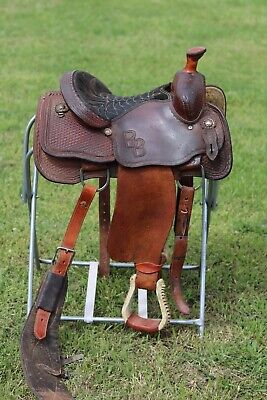 TOD SLONE ROPING Saddle- 14
