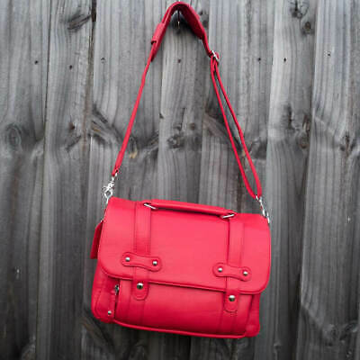 Lei Momi Camera Bags - CHERRY RED -  Stylish DSLR Camera Bag