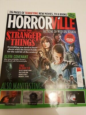Horrorville  Magazine Issue 4 - May 2017 Rare collectors