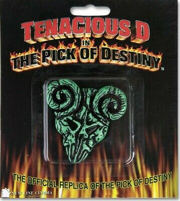 "Official Tenacious D '""Pick Of Destiny"" Movie Replica Clayton Guitar Pick *New*"