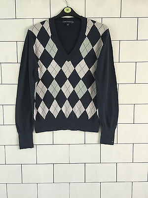 27ce835e Tommy Hilfiger 90'S Vintage Retro Bold Urban Mens Jumper Pullover Size Xl